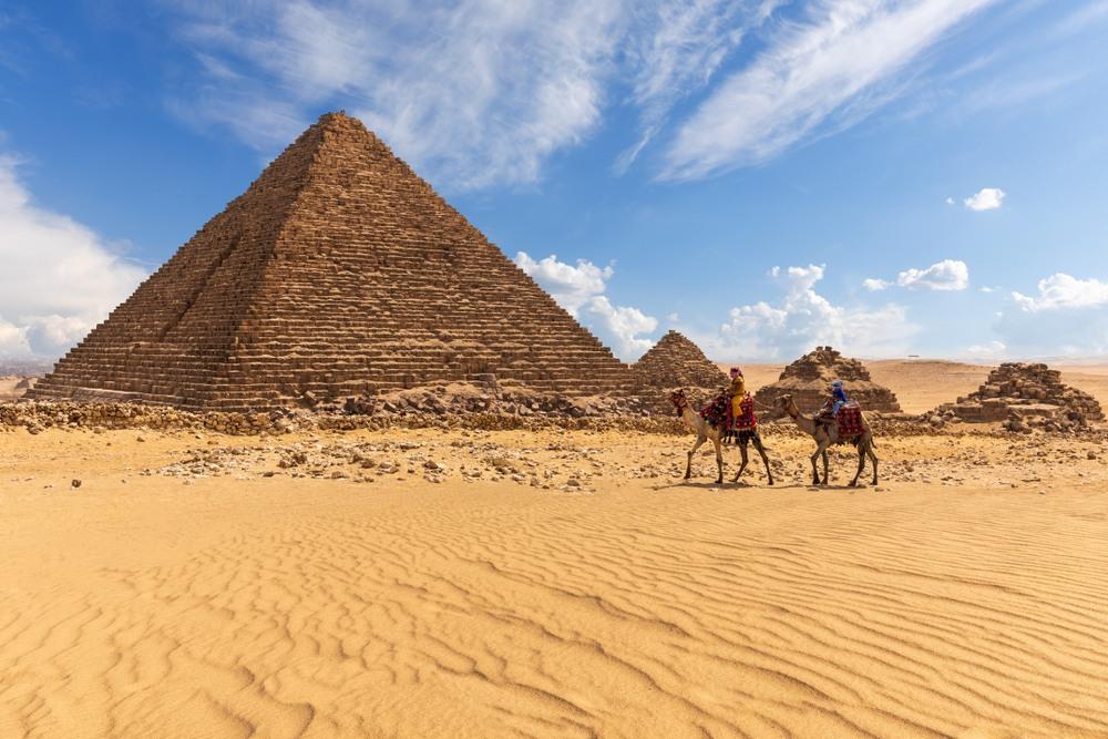 Partenón, Pirámides y Tierra Santa en el mismo crucero