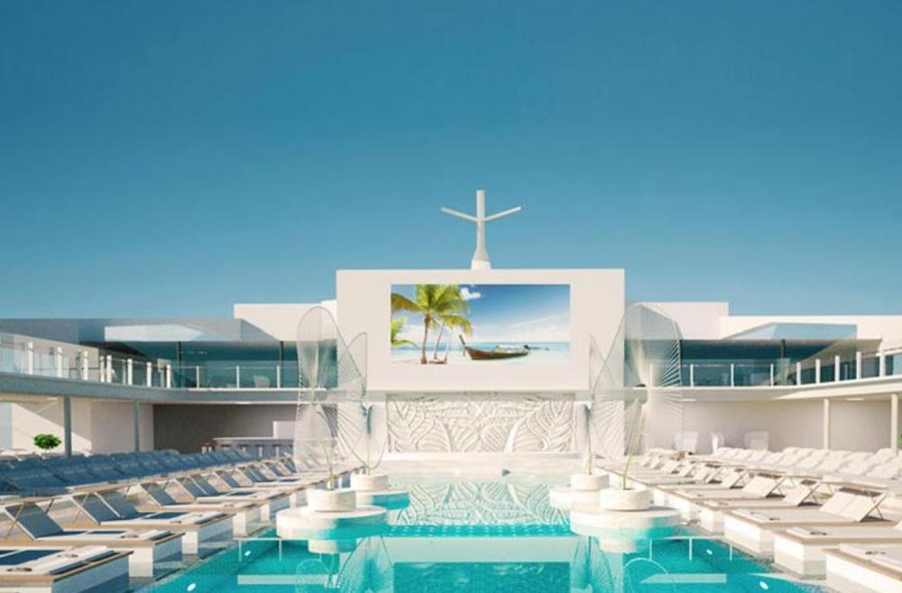 Espectacular piscina del MSC Grandiosa