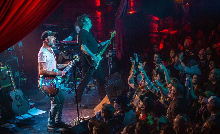 Concierto de rock 'n' roll en Memphis