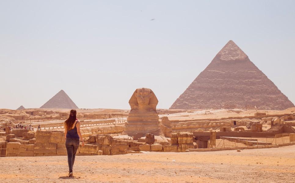 Vistas de las Pirámides de Giza