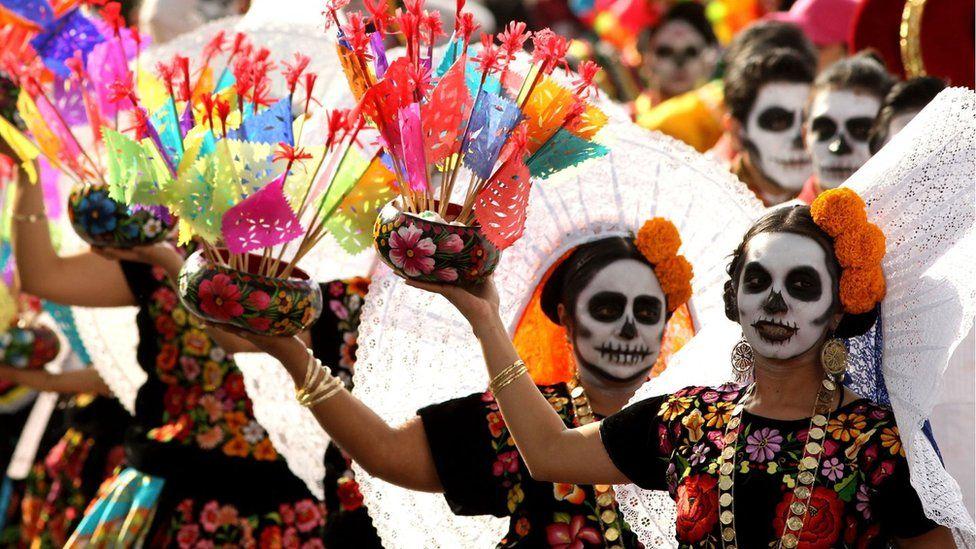 Celebración del Día de difuntos en México