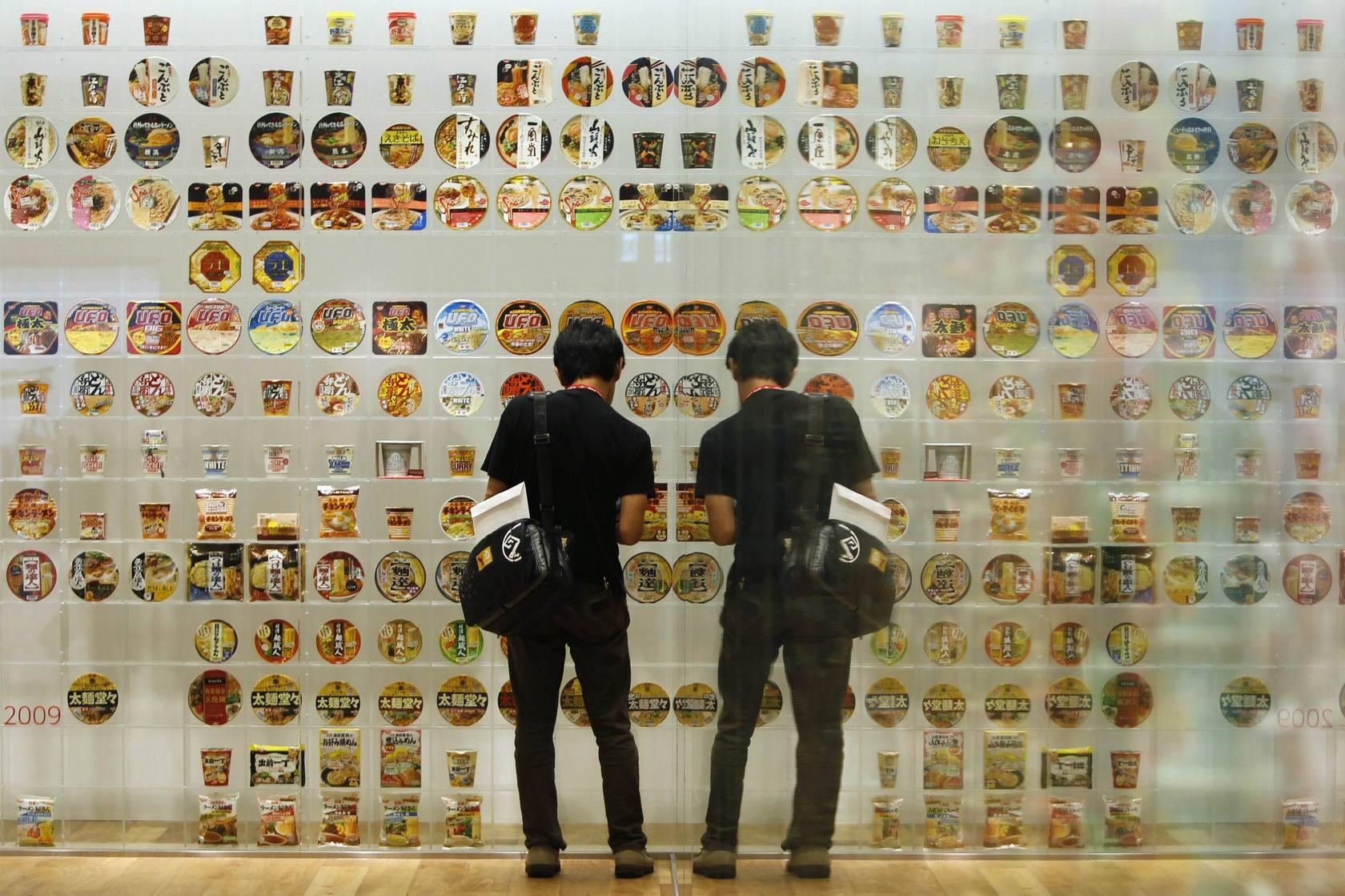 Visitantes en el Museo de los noodles