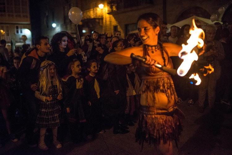 Celebración de Samaín en las calles