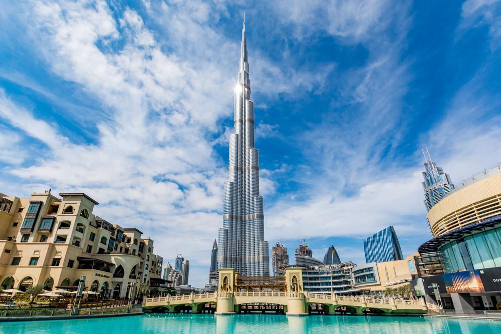 Impresionante Burj Khalifa en Dubái