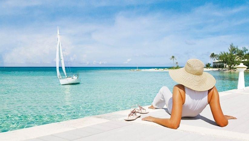 Vistas al mar en las Islas Caimán
