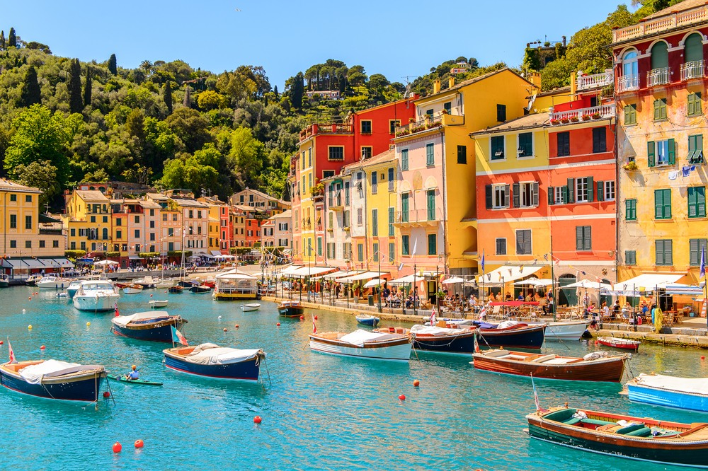 Pequeño puerto de Portofino