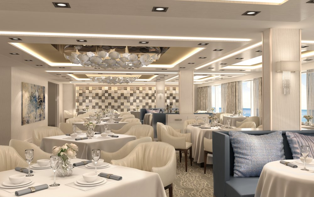The Haven Restaurant, uno de los exquisitos restaurantes a bordo del Norwegian Encore