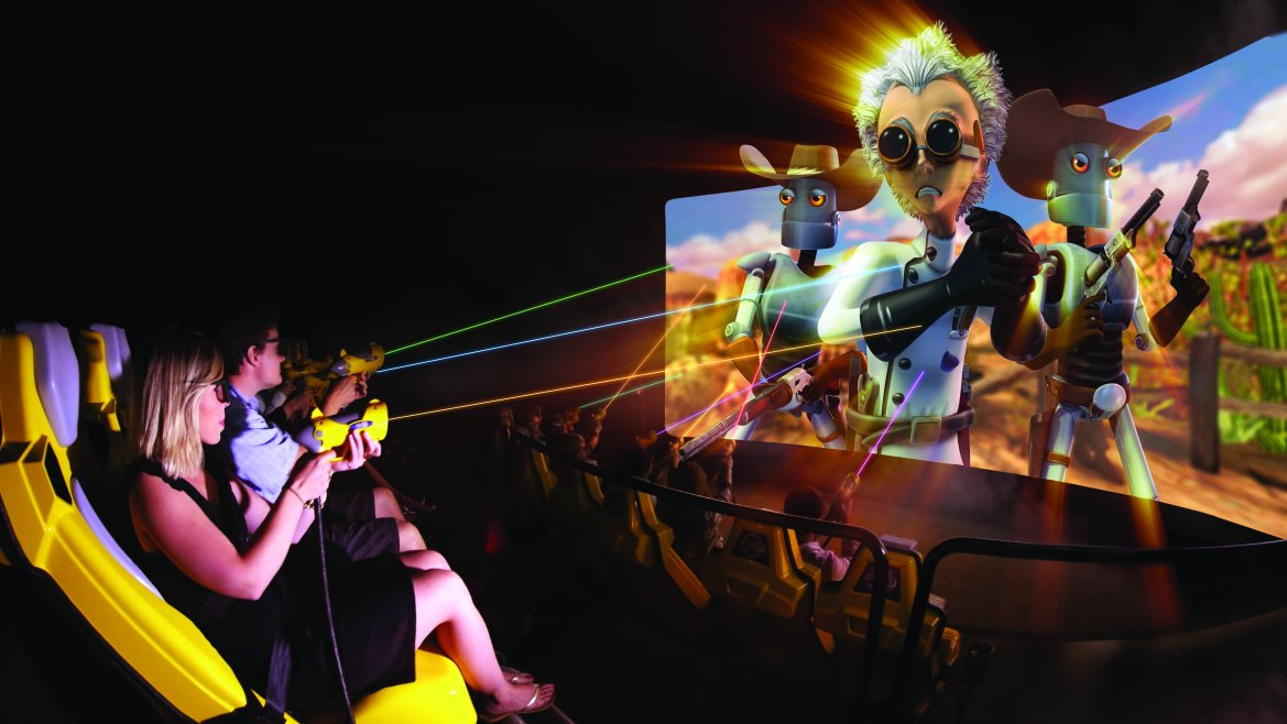 Realidad Virtual en el salón de juegos  Galaxy Pavilion, Los Banditos