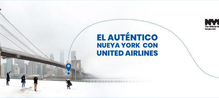Descubre el lado más auténtico de Nueva York con United Airlines