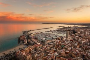 Viajar en enero a Alicante en tren