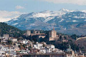 Viajar en enero a Granada en tren