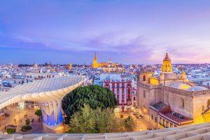 Viajar en enero a Sevilla en tren