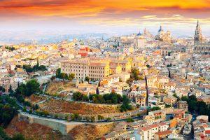 Viajar en enero a Toledo en tren