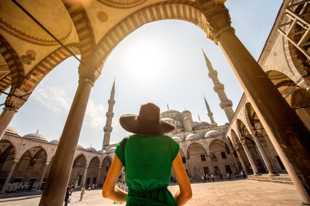 Mezquita Azul en Estambul, Turquía