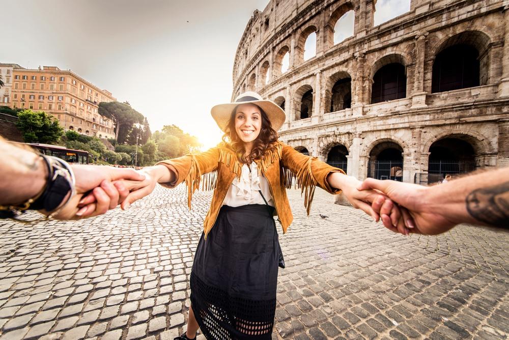 Roma, una de las cuidades a visitar en los itinerarios por Mediterráneo