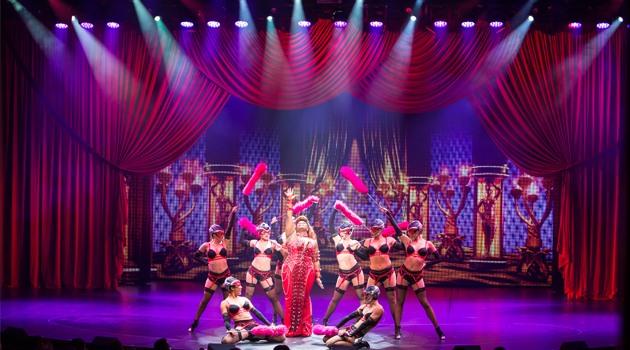 Uno de los espectáculos de Broadway en el Allure of the Seas