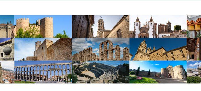 Recorre España a través de sus 15 Ciudades Patrimonio