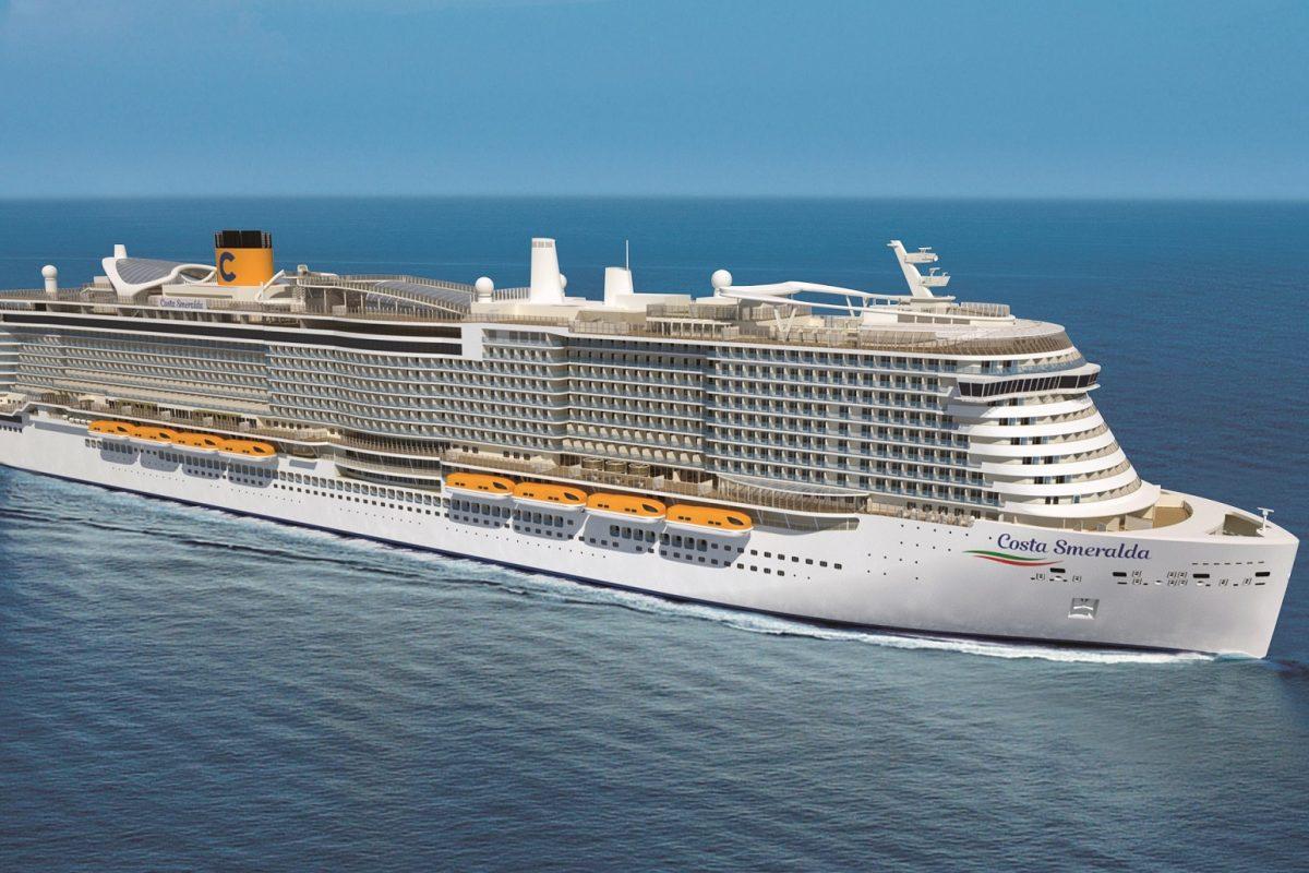 El Costa Smeralda vuelve a navegar esta semana