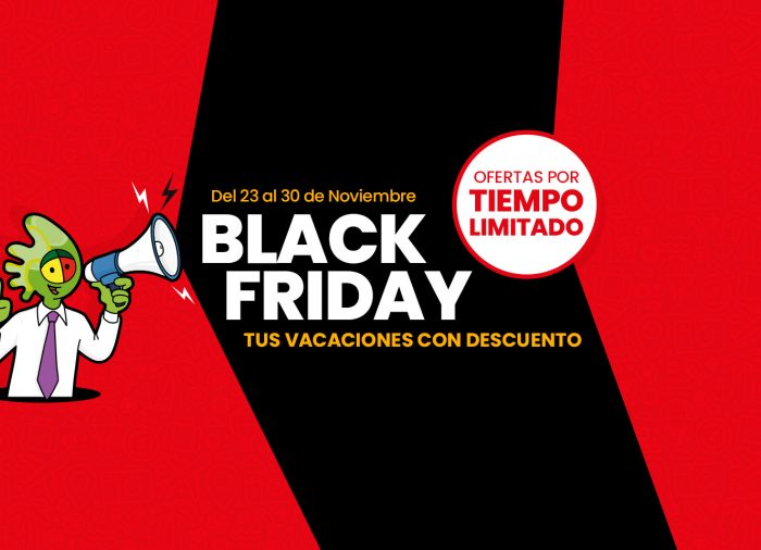 Toda una semana de descuentos Black Friday en Logitravel