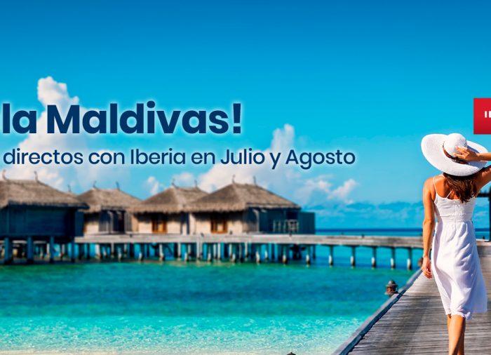 Disfruta Maldivas con vuelo directo desde Madrid