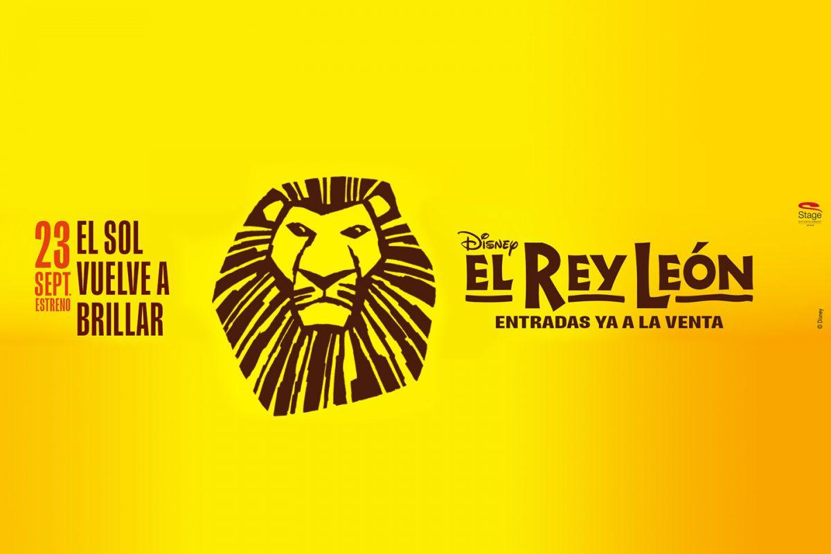 Vuelve el Musical El Rey León el 23 de septiembre a Madrid